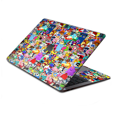 $15.98 • Buy Skin Decal Wrap For MacBook Pro 13  Retina Touch  Sticker Collage