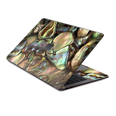$15.98 • Buy Skin Decal Wrap For MacBook Pro 13  Retina Touch  Gold Abalone Shell Large