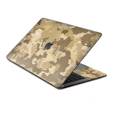 $15.98 • Buy Skin Decal Wrap For MacBook Pro 13  Retina Touch  Brown Desert Camo Camouflage