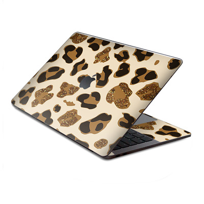 $15.98 • Buy Skin Decal Wrap For MacBook Pro 13  Retina Touch  Brown Leopard Skin Pattern