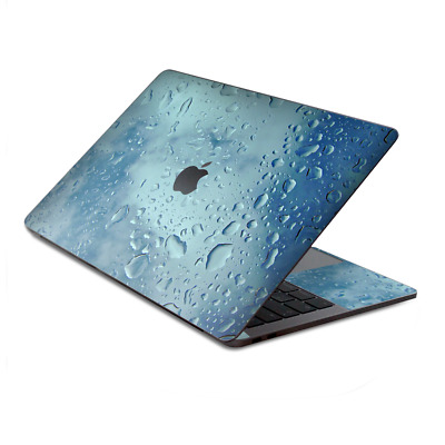 $15.98 • Buy Skin Decal Wrap For MacBook Pro 13  Retina Touch  Raindrops