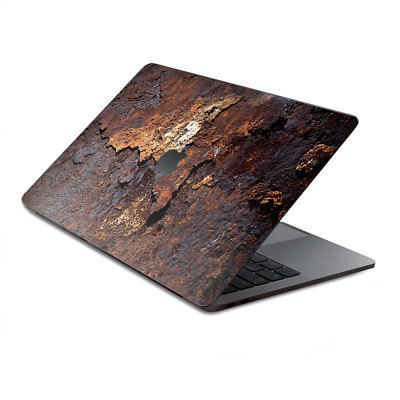 $16.98 • Buy Skins Wrap For MacBook Pro 15 Inch Retina Touch  Rusted Away Metal Flakes