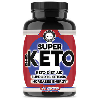 $10.99 • Buy Keto Ultra Fast Super Boost Weight Loss Diet Pills NEW Supplement BHB 60 Count