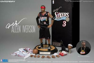 $598 • Buy Enterbay 1/6 Allen Iverson Action Figure New Upgraded Re-edition