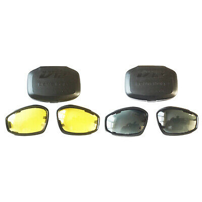 £8.99 • Buy ESS V12 Goggles Advancer Replacement Spare Lenses Army Clear Yellow Black