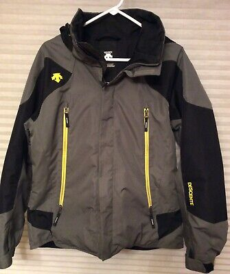 $59.99 • Buy Descente Men's Size Small Winter Ski Jacket D5-8673EB Grey Black Yellow