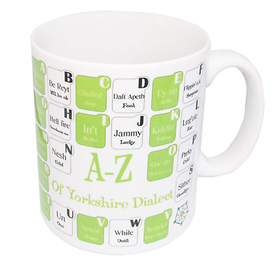 A-Z Of Yorkshire Dialect Mug • 9£