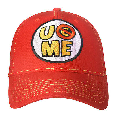 £15.27 • Buy LOT Of 2 WWE AUTHENTIC JOHN CENA U Can'T See Me Red Baseball Cap Hats  BRAND NEW