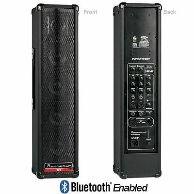 $359.99 • Buy PowerWerks PW150TFXBT Self-Contained 150-Watt Personal P.A. System W/Bluetooth