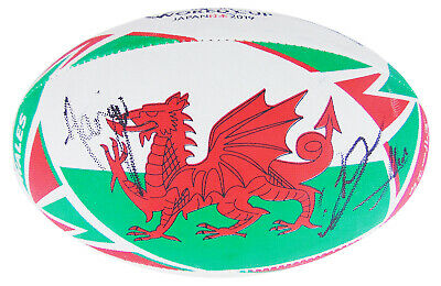 Signed Wales Rugby Ball - RWC 2019 +COA • 399.99£