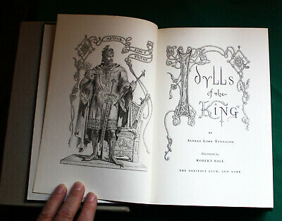 $19.99 • Buy Idylls Of The King - Heritage Club 1939 - Boxed