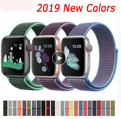 $ CDN6.99 • Buy Band For IWatch Series 5/4/3/2/1 38/42MM Nylon Soft Breathable Replacement CA