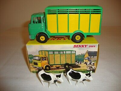 £235 • Buy FRENCH DINKY 577 BERLIET BETAILLERE (LIVESTOCK) TRUCK - NR MINT In Original BOX