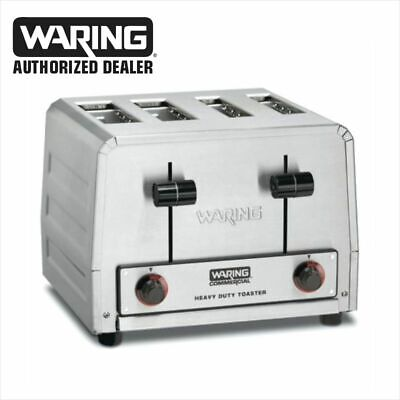 Waring WCT815b Heavy Duty Combination Toast Bagel Toaster 208 Volt Commercial  • 149.99$