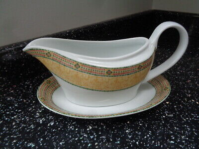 Wedgwood Home Florence Gravy Boat And Stand • 15£