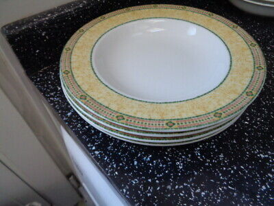 Wedgwood Home Florence Soup Plates X 4 • 36£