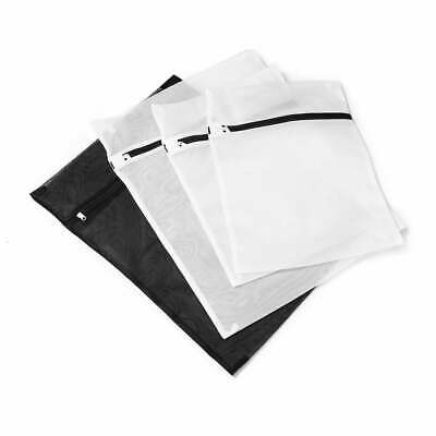 AU7.49 • Buy Set Of 4 Mesh Washing Bag Pack Laundry Bags Lingerie Delicate Clothes Wash Bags