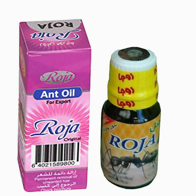Roja Ant Egg Oil For Permanent Unwanted Hair Removal 60 Days • 20.49£
