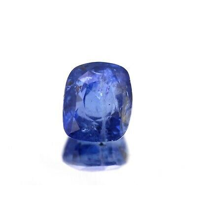 4.06 Cts Natural Blue Sapphire Unheated Untreated From Ceylon Cushion Shape • 436.05$