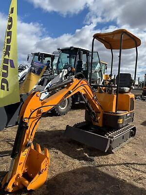 AU15900 • Buy 2020 14hp Yanmar Engine 1.2t Mini Excavator Stock In Syd Mel Sa And Bne