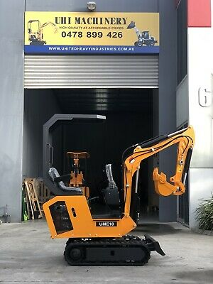 AU11500 • Buy 2020 Uhi Ume10s 10 Hp Diesel Mini Excavator Stock In Syd Mel Sa And Bne.