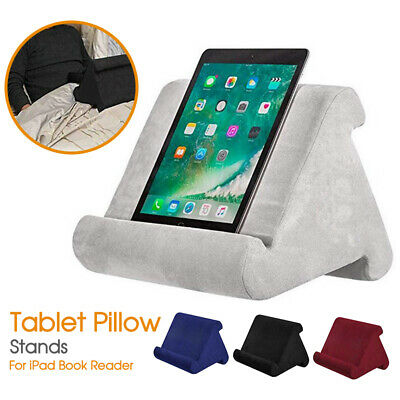 AU18.99 • Buy Tablet Pillow Stands For IPad Book Reader Holder Rest Laps Reading Cushion New