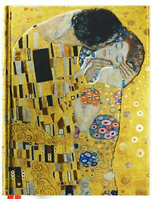 $ CDN22.35 • Buy Klimt Kiss Sketch Book  8.50 X 11.00 Inches 176 Pages Foil Hardcover Sketchbook