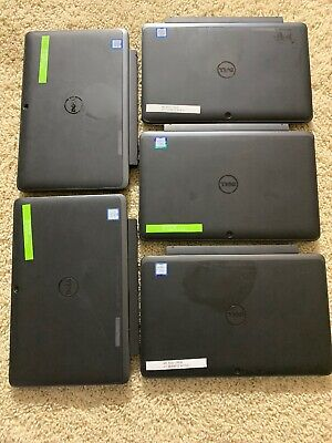 $ CDN1266.87 • Buy Lot Of 5 Dell Latitude 5175 10.8in. Convertible 2in1 M3 128gb Ssd 4gb Ram Laptop
