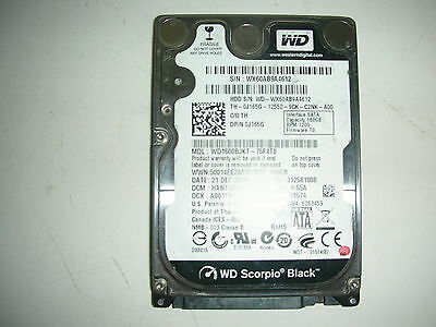 AU16.67 • Buy WD Scorpio Black 160gb WD1600BJKT-75F4T0 2061-701574-A00 AE 2,5   SATA HDD HD