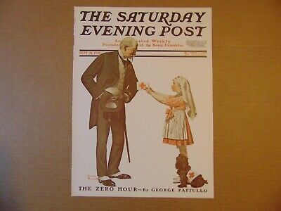 $ CDN9.29 • Buy Saturday Evening Post SEPT 21,1918  (REPRINT) Norman Rockwell (COVER ONLY)