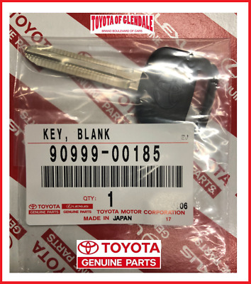 $11.99 • Buy Genuine Toyota Oem New Uncut Non Chip Ignition Blank Master Key 90999-00185