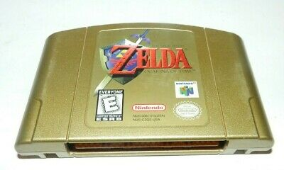 $74.32 • Buy Zelda Ocarina Of Time Collector's Edition Gold Nintendo 64 N64 Game Cart Tested