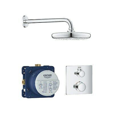 £404.96 • Buy Grohe Grohtherm Perfect Shower Set With Tempesta 210