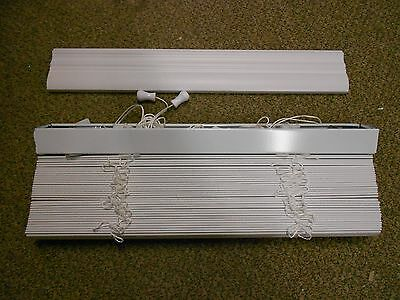 $ CDN30.31 • Buy Blinds Faux Wood 22 X 72  White 2   Mobile Home RV Camper House *NEW*