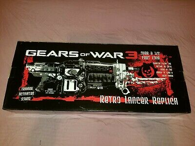$720 • Buy New Gears Of War 3 Retro Lancer Replica W/ Sound