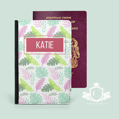 £12 • Buy Personalised Girls For Her Passport Cover Case Travel Wallet Holder - CNP-178