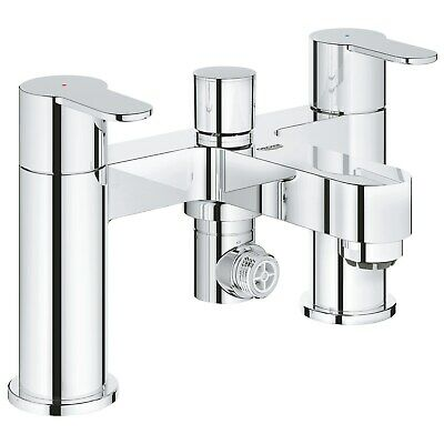 Grohe BauEdge Deck Mounted Bath Shower Mixer Tap 25217000 • 145.97£