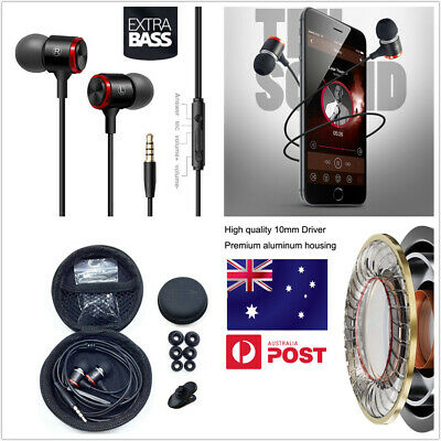AU15.98 • Buy Wireless Bluetooth Headphones Handsfree Earpiece Noise Reduce Earbud Mic Headset