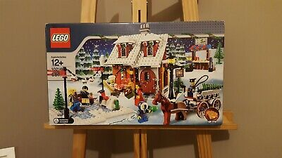 LEGO (10216) Winter Village Bakery - Rare Set From 2010, Sealed • 260£