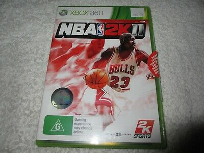 AU8 • Buy Xbox 360 Game NBA 2K11 C51