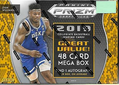 $149.99 • Buy 2019-20 Prizm Draft Picks - MEGA BOX, With 48 Cards And 1 AUTOGRAPH, ZION RCs?