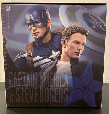 $502.99 • Buy MIB Hot Toys Captain America & Steve Rogers : The Winter Soldier 902186 MMS243