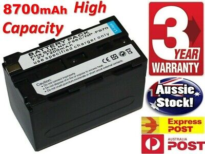 AU24.50 • Buy NP-F970 Camera Battery Charger LCD For SONY NP-F550 F750 F950 FM50 H1S4 AU