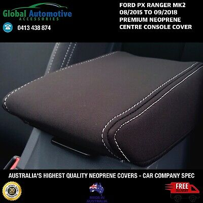 AU49.95 • Buy FITS FORD RANGER PX MkII NEOPRENE CENTRE CONSOLE COVER XL XLS XLT Wildtrak FX4