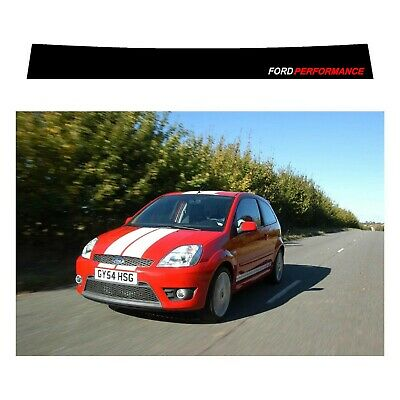 £18 • Buy Ford Fiesta ST Sunstrip For A Gen5 2002 To 2009 - Pre Cut, No Trimming Required!