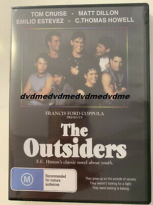 AU9.95 • Buy The Outsiders DVD Brand New Sealed Manufactured Australian Release