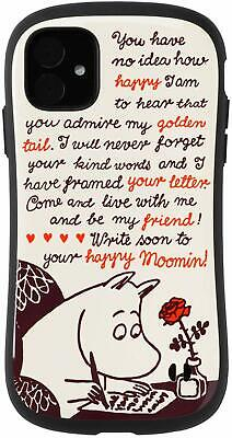 IFace IPhone 11 Case Cover 6.1 First Class Moomin Letter 41-9045-904640 Japan • 54.38£