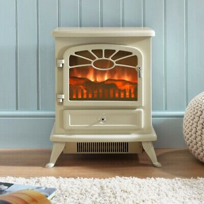 Focal Point Electric Stove Fire Es2000 Choose - Cream, Black, Grey Or Burgundy  • 105.77£