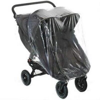 Rain Cover To Fit Baby Jogger City Mini Gt Double With Zip Access Quality Pvc • 19.50£