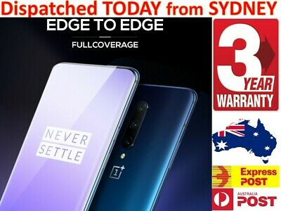 AU6.27 • Buy For OnePlus 5 6 6 7T 8 Pro Full Cover Coverage Tempered Glass Screen Protector